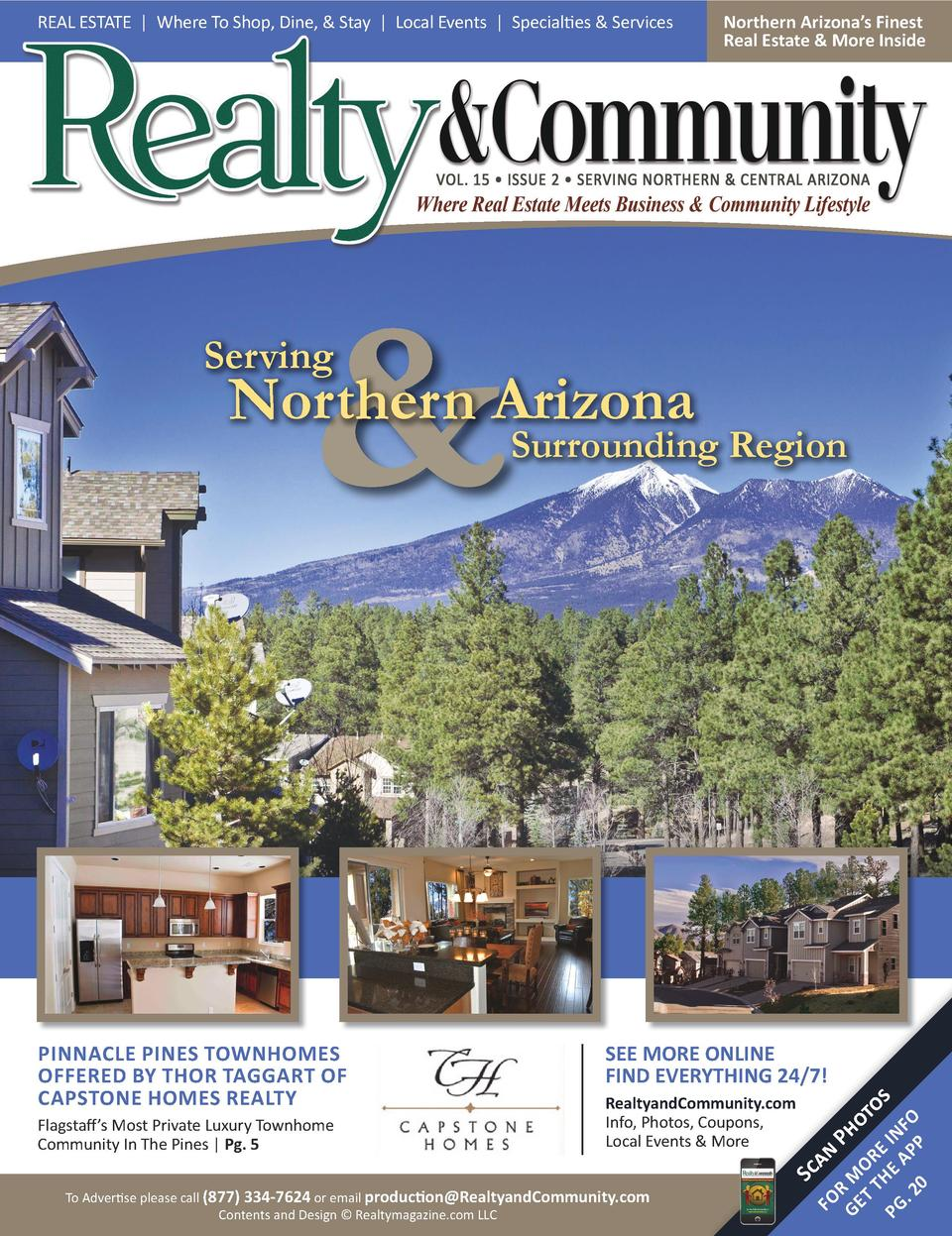 REAL ESTATE   Where To Shop, Dine,   Stay   Local Events   Specialties   Services  Northern Arizona   s Finest Real Estate...