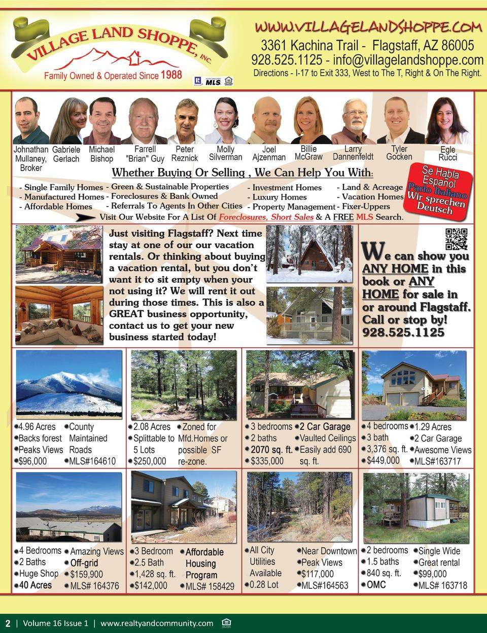 2   Volume 16 Issue 1   www.realtyandcommunity.com