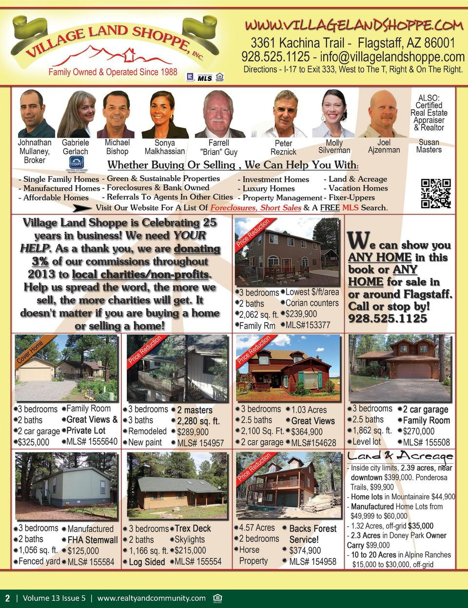 2   Volume 13 Issue 5   www.realtyandcommunity.com