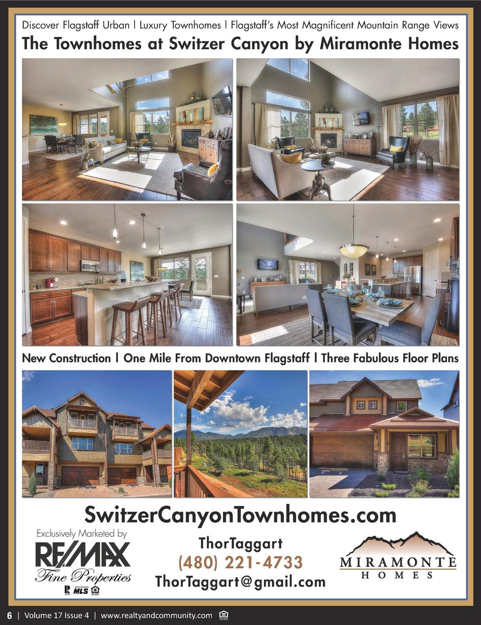 Discover Flagstaff Urban l Luxury Townhomes l Flagstaff   s Most Magnificent Mountain Range Views  The Townhomes at Switze...