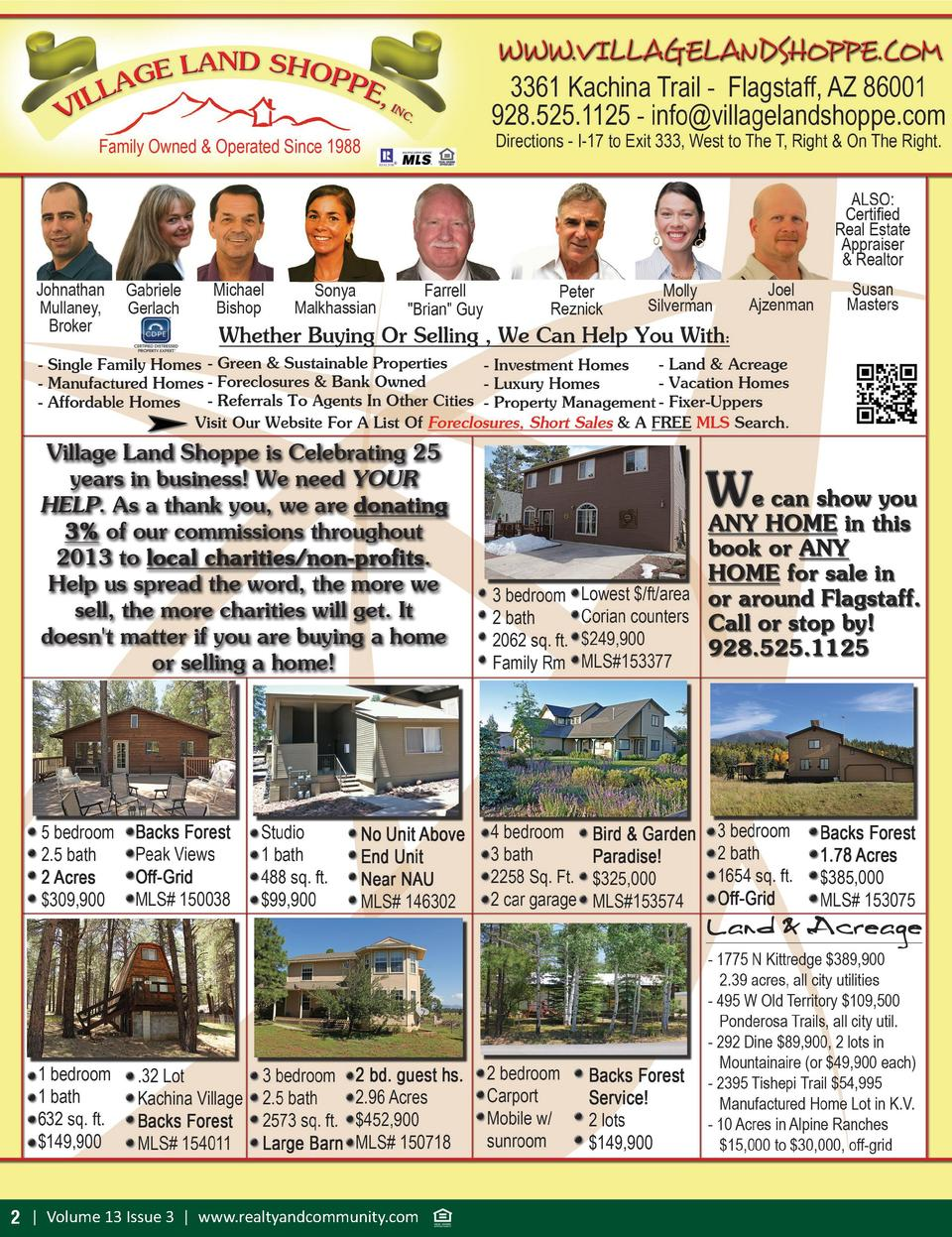 2   Volume 13 Issue 3   www.realtyandcommunity.com