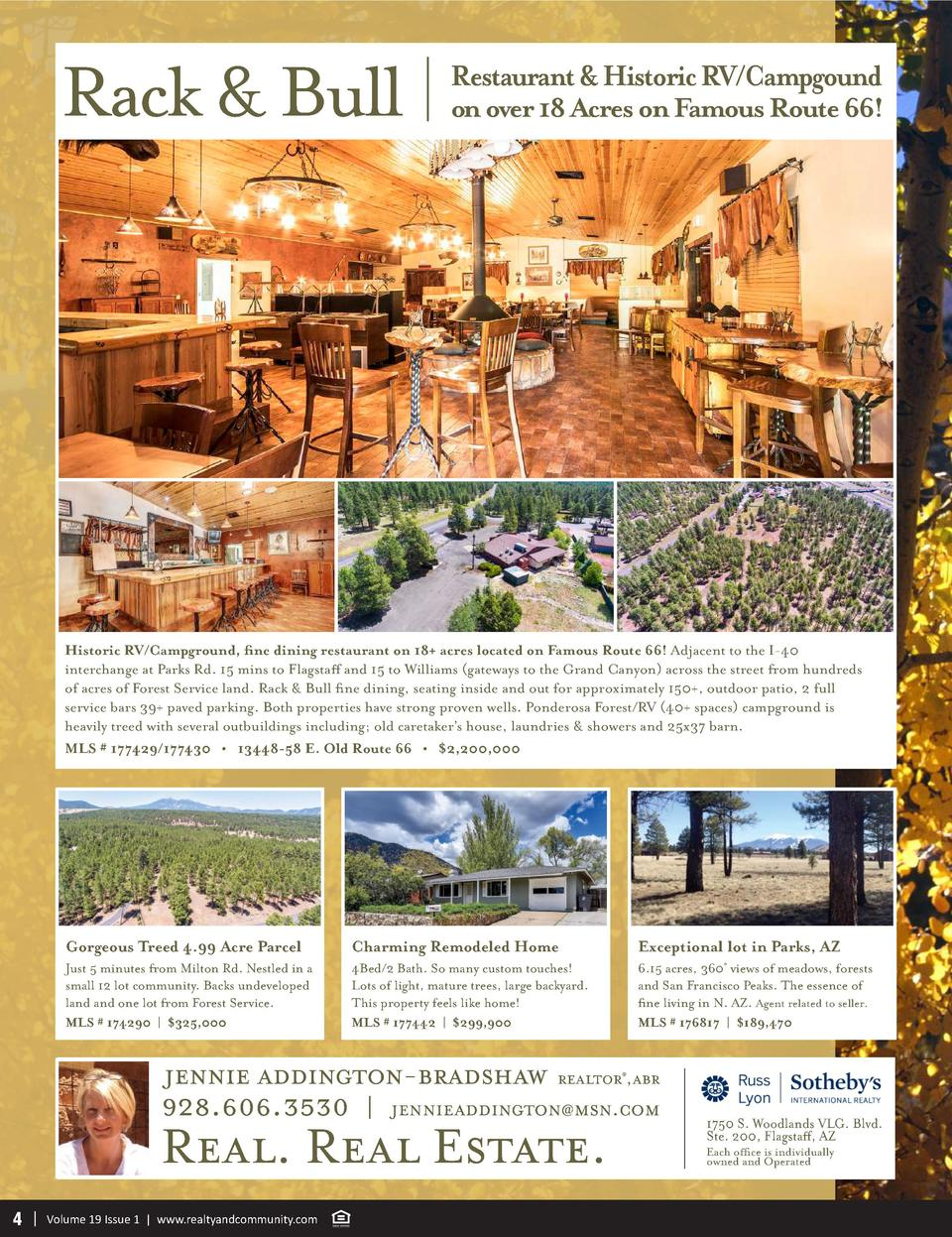 Rack   Bull  Restaurant   Historic RV Campgound  on over 18 Acres on Famous Route 66   Historic RV Campground, fine dining...